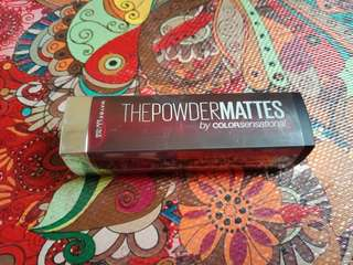 Maybelline the powdermattes