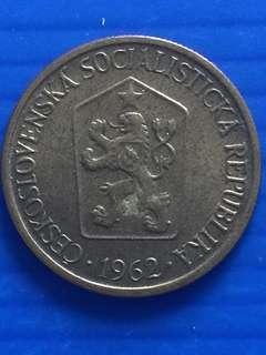 Ceskoslovenska 1 Cent 1962