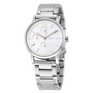 SOHO SILVER DIAL STAINLESS STEEL LADIES WATCH NY2273