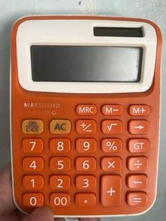 Matsusho 橙色計數機