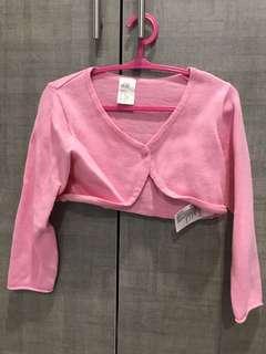 H&M baby girl Pink Cardigan