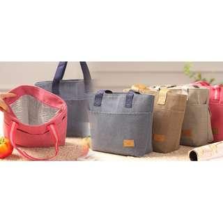 [保溫保冷兩用便當包] 具有保溫和保冷功能,能有效保護食物,適合用於帶飯餸返工、野餐、露營、燒烤等等