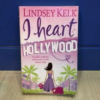 English Books - I Heart Hollywood by Lindsey Kelk