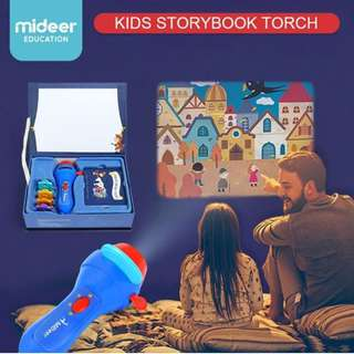 Mideer Kids Storybook Torch Projector Cinderella Pinocchio Thumbelina The Happy Prince Fancy Games