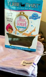#Hair towel