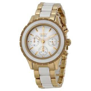WESTSIDE WHITE DIAL STAINLESS STEEL AND CERAMIC LADIES WATCH NY8830
