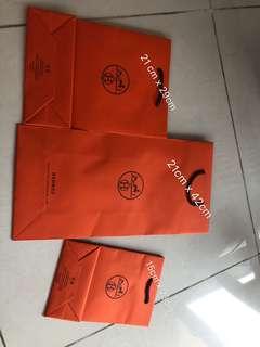 Hermes 紙袋 paper bag