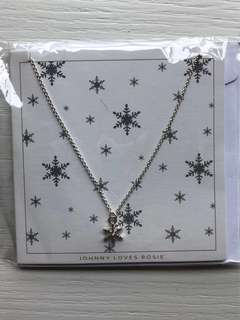 [100% New] Johnny Loves Rosie Snowflake Necklace