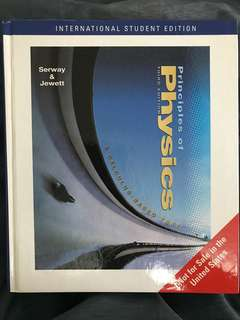 Principles of Physics 3rd Edition Hardcover Serway & Jewett
