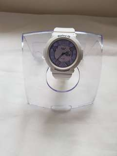 Casio Baby-G White Resin Strap Watch