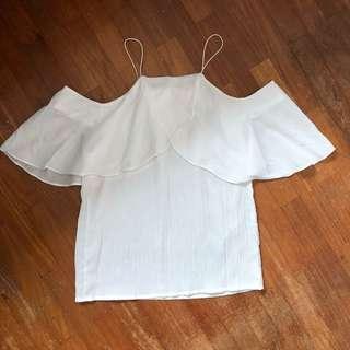 Staple White Off Shoulder Top