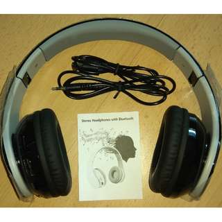 Stereo Headphones with Bluetooth / Line in