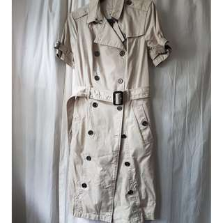 日本版全新正品 Burberry Brit Cotton Gabardine Trench Coat / Dress