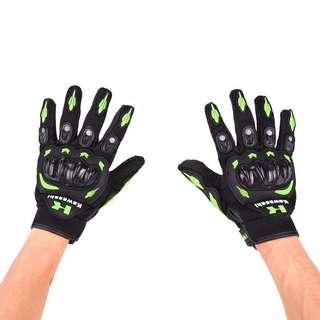 Kawasaki Motorcycle Gloves Size L