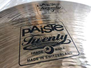 "Hi Hats - Paiste Twenty Series 14"" hi hats"