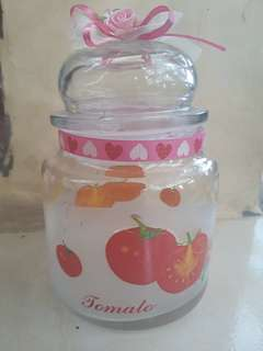 Glass jar / toples kaca