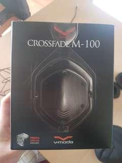 V-Moda Crossfade M-100 Over-Ear Headphone - Shadow