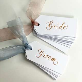 Customizable Wedding Place Cards / Escort Cards