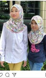Kids hijab instant shawl Brand Carla & Rose