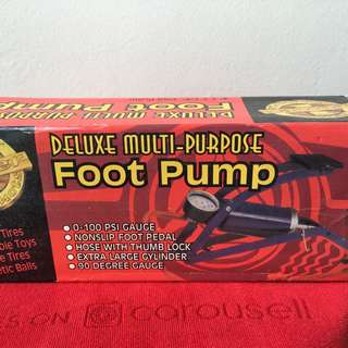 Pump Foot for Vehicle & Bicycle