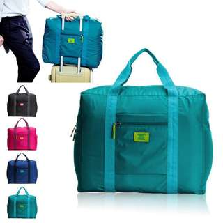 Travel foldable luggage bag (PINK)