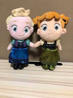Frozen Elsa and Anna approximately 30cm