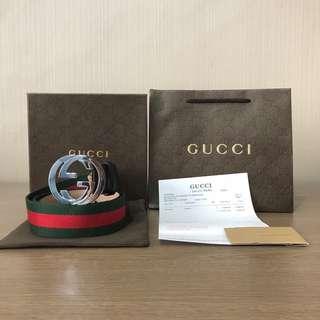 Sabuk Gucci Pria Mirror Quality