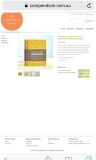Compendium Expecting You pregnancy journal