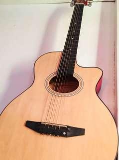 Beginner's acoustic guitar
