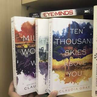 Firebird Trilogy Series (A Thousand Pieces of You and Ten Thousand Skies Above You) | Claudia Gray
