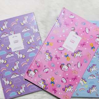 Unicorn Weekly & Daily Planner ONHAND
