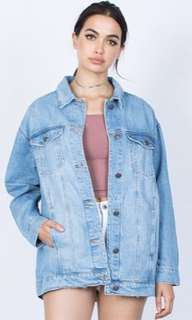 Jacket Jeans Over Size