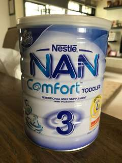 800g sealed Nestle Nan Comfort stage 3 (above 1 year)
