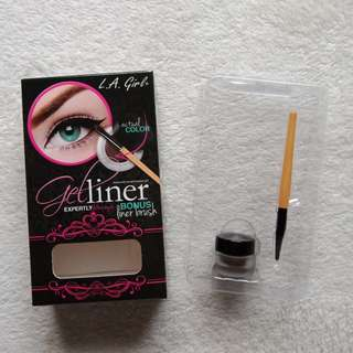 LA Girl Brow and Eye Gel Liner with Free Liner Brush