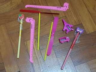 Kids stationery set