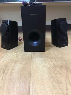 Samsung Speakers with Subwoofer
