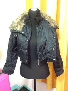 Fur collar coat (Small-semiMedium frame)
