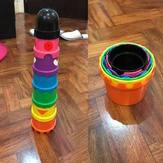 Ikea Stacking Cups