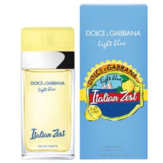 DOLCE & GABBANA Light Blue Italian Zest EDT perfume 100ml