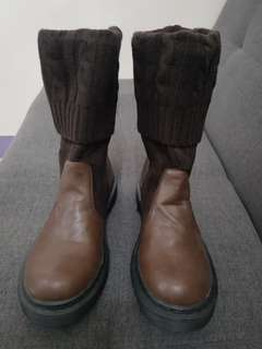 S&H Brown Boots