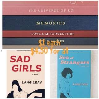(ebook) Lang Leav Books