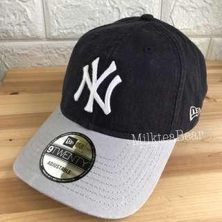 🇺🇸直送 New Era 9twenty Cap hat。(Navy x Grey) (深藍x灰)