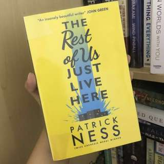 The Rest Of Us Just Live Here | by Patrick Ness