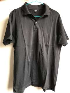 Uniqlo - Black Polo Shirt