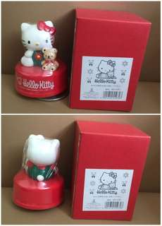 ** 分享 ** Sanrio Hello Kitty 1994 年 人形陶瓷音樂座 (Made in Japan)