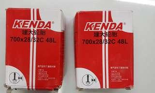 2x kenda tube 700x28/32C 48L AV