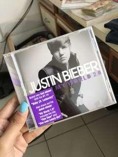 Justin Bieber My World 2.0 album