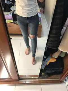 🚚 顯瘦牛仔褲
