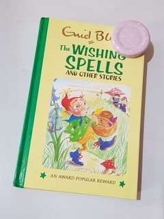 Enid Blyton Book: The Wishing Spells & other stories