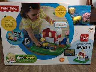 Fisher price apptivity barnyard